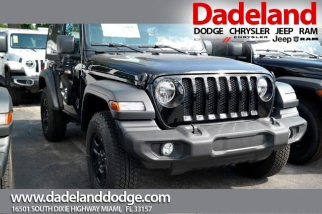 New 2018 Jeep Wrangler SPORT 4X4 Sport Utility in Miami
