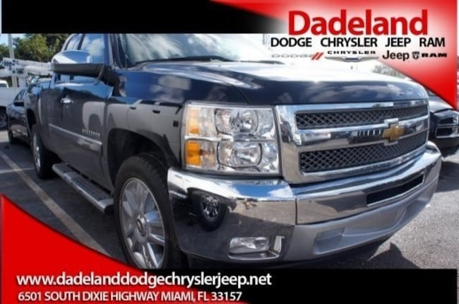 Used 2013 Chevrolet Silverado 1500 LT Pickup Truck in Miami