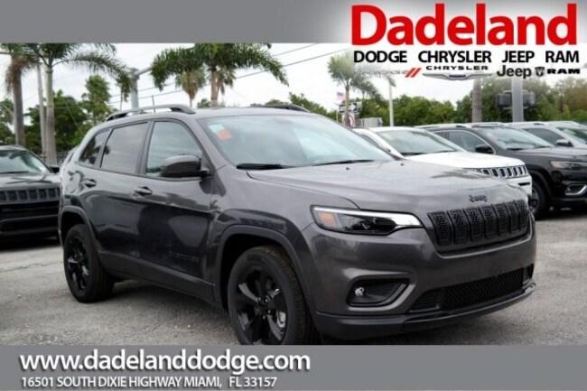 New 2019 Jeep Cherokee ALTITUDE FWD Sport Utility in Miami