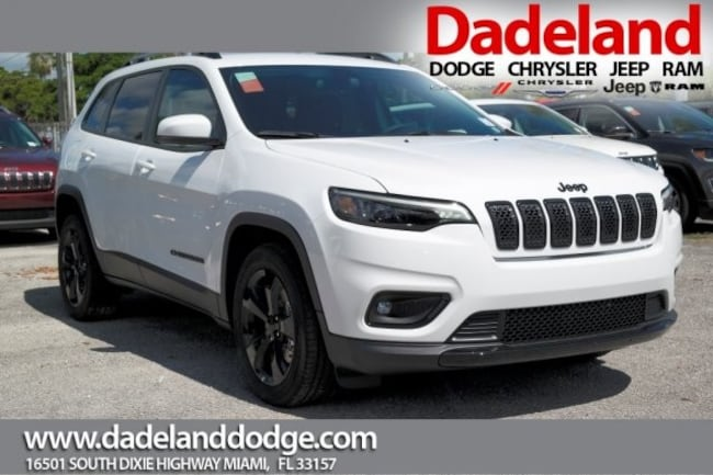 New 2019 Jeep Cherokee ALTITUDE FWD Sport Utility in Miami