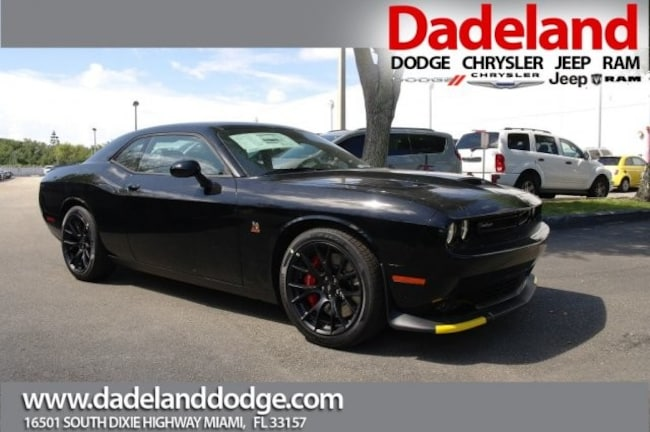 New 2019 Dodge Challenger R/T SCAT PACK Coupe in Miami