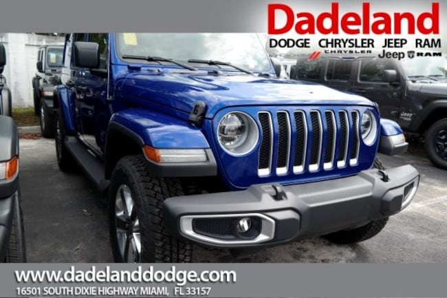 New 2018 Jeep Wrangler UNLIMITED SAHARA 4X4 Sport Utility in Miami
