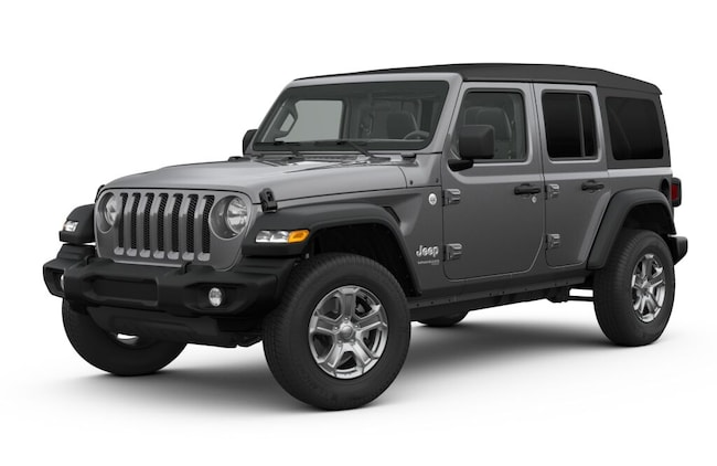 New 2019 Jeep Wrangler UNLIMITED SPORT S 4X4 Sport Utility in Miami