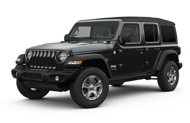 New 2019 Jeep Wrangler UNLIMITED SPORT S 4X4 Sport Utility in Miami