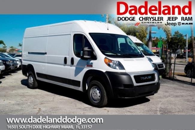New 2019 Ram ProMaster 2500 CARGO VAN HIGH ROOF 159 WB Cargo Van in Miami