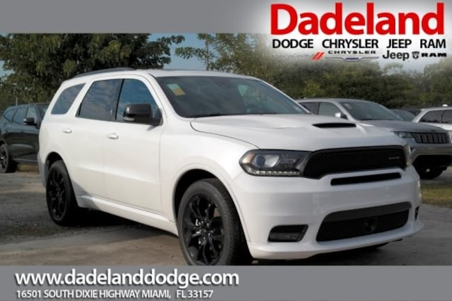 new 2019 dodge durango gt plus rwd in miami