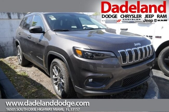 New 2019 Jeep Cherokee LATITUDE PLUS FWD Sport Utility in Miami