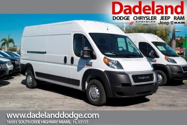New 2019 Ram ProMaster 2500 CARGO VAN HIGH ROOF 159 WB Cargo Van in Miami