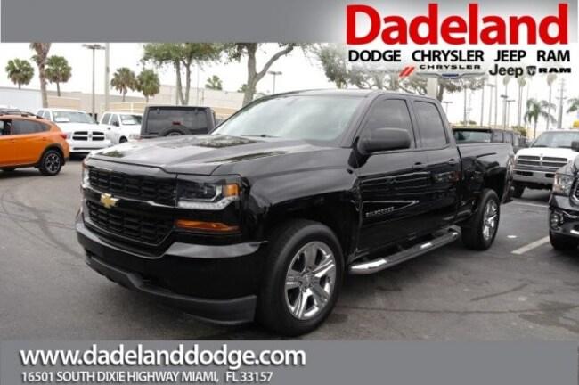Used 2016 Chevrolet Silverado 1500 Custom Pickup Truck in Miami