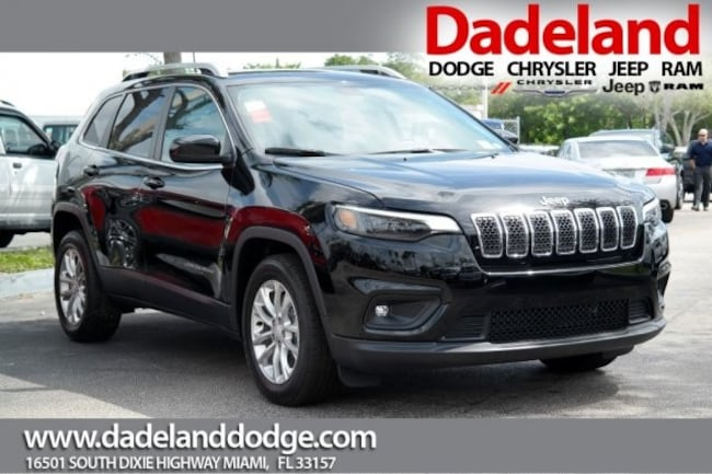 New 2019 Jeep Cherokee LATITUDE FWD Sport Utility in Miami
