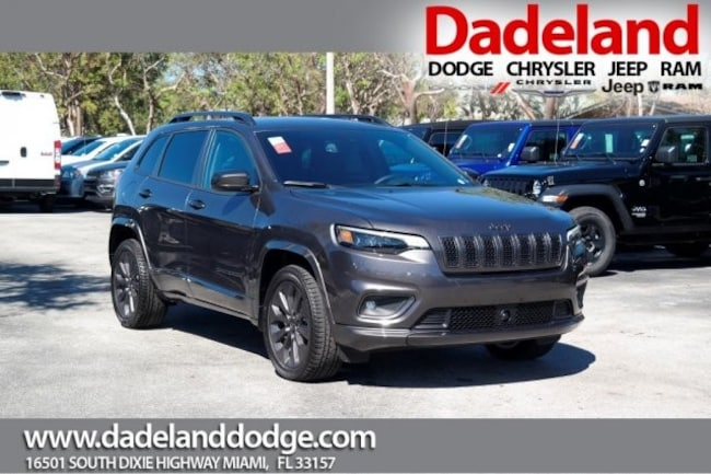 New 2019 Jeep Cherokee HIGH ALTITUDE FWD Sport Utility in Miami