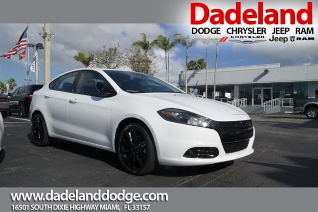 New 2016 Dodge Dart SXT SPORT BLACKTOP Sedan in Miami