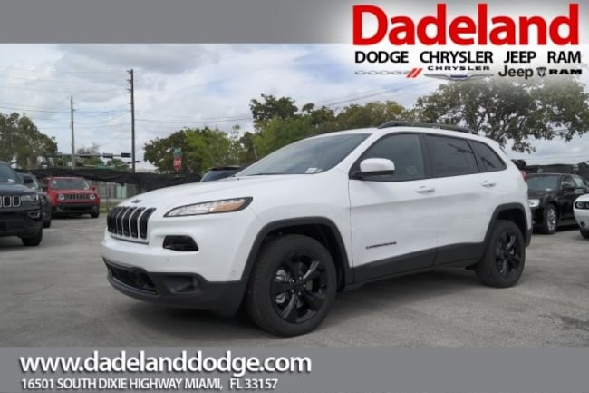New 2017 Jeep Cherokee HIGH ALTITUDE FWD Sport Utility in Miami