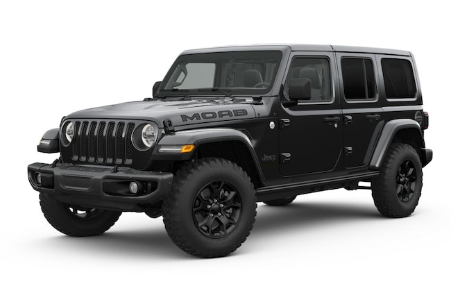 New 2019 Jeep Wrangler UNLIMITED MOAB 4X4 Sport Utility in Miami