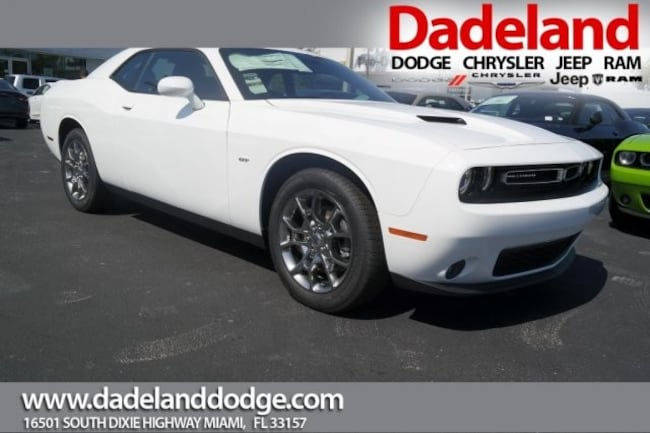 New 2017 Dodge Challenger GT ALL-WHEEL DRIVE Coupe in Miami