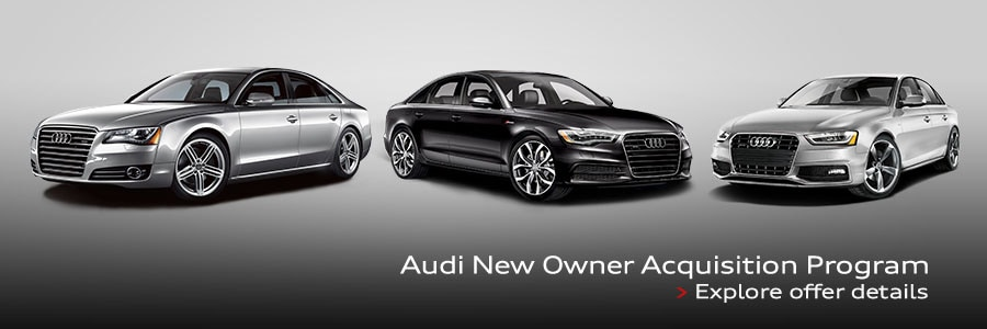 Audi New Owner Acquisition Program Circle Audi