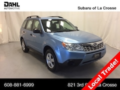 Used and Certified 2012 Subaru Forester 2.5X SUV for sale in La Crosse, WI