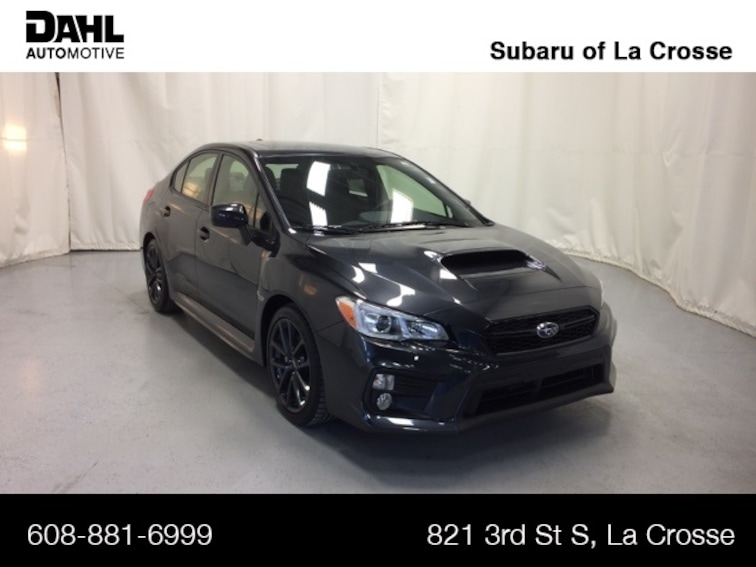 New 2019 Subaru WRX Premium (M6) Sedan 29S0386 in La Crosse, WI