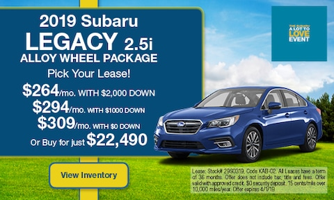 March '19 Legacy Lease Offer
