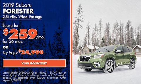 '19 Forester Lease Offer