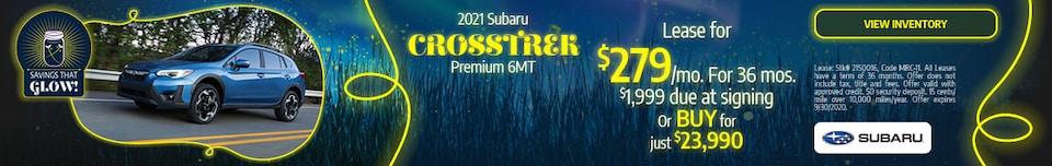September 2021 Subaru Crosstrek Premium 6MT Offer