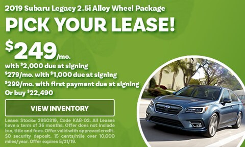 May 2019 Legacy Lease Offer