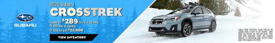 February 2020 Subaru Crosstrek