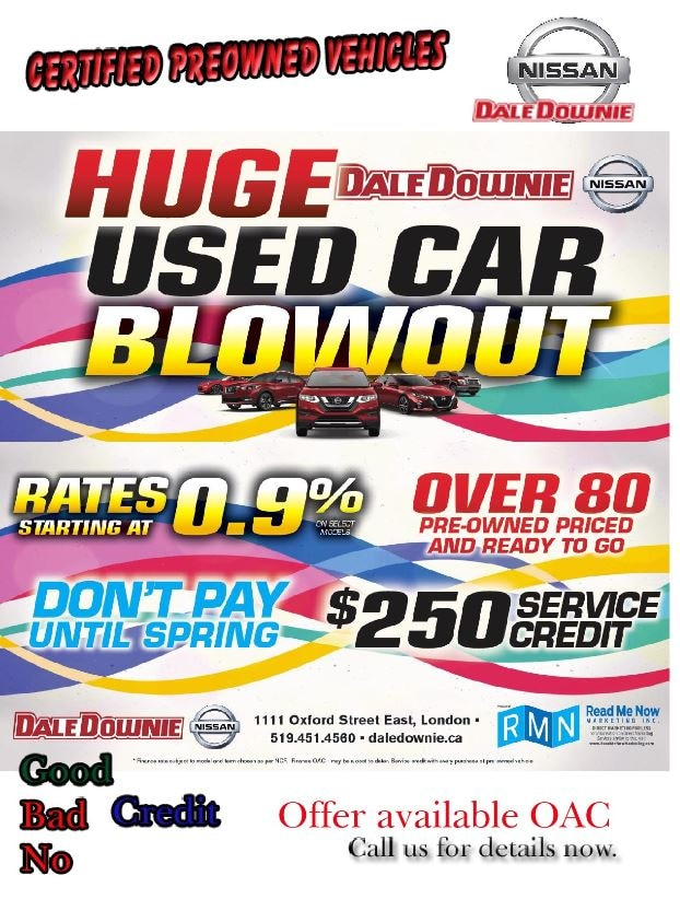 Pre Owned Inventory >> Pre Owned Inventory Dale Downie Nissan