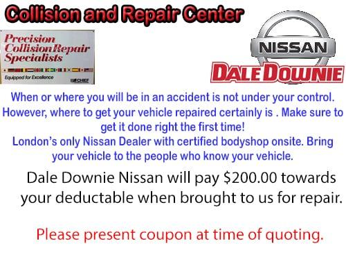 Dale Downie Nissan Bodyshop