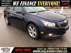 2014 Chevrolet Cruze LTZ | ONLY 45KMS!! | LEATHER | BACK-UP CAM Sedan