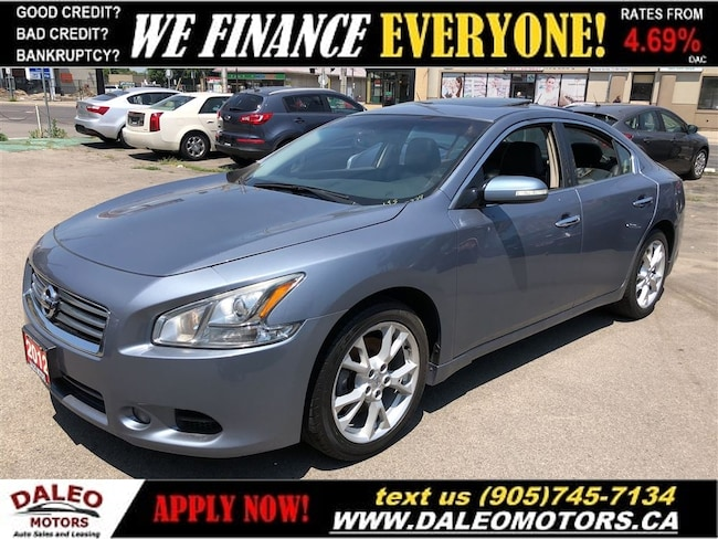 2012 Nissan Maxima SV| SUNROOF| LEATHER| HEATED SEATS Sedan