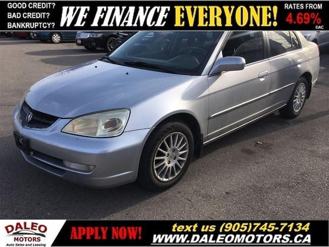 2002 Acura EL 1.7 Touring | YOU SAFETY, YOU SAVE!! Sedan