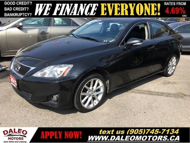 2013 LEXUS IS 250 AWD | SUNROOF | ALLOYS | ** NEW PRICE! ** Sedan