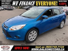 2014 Ford Focus SE| ONLY 48 KMS | USB INPUT| CERTIFIED Sedan