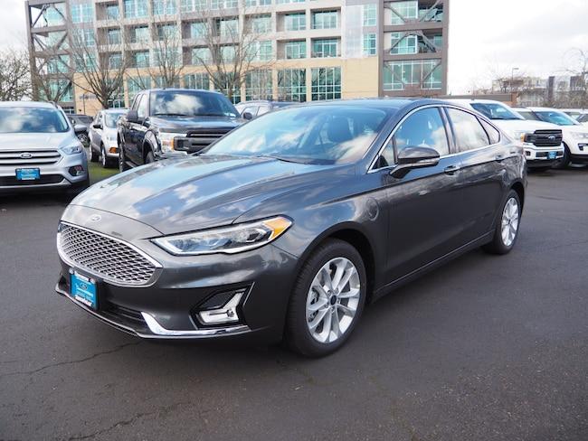 New 2019 Ford Fusion Energi Titanium Sedan in Beaverton, OR