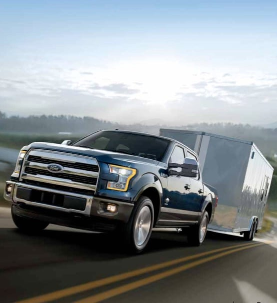 towing ford guide capacity truck trucks