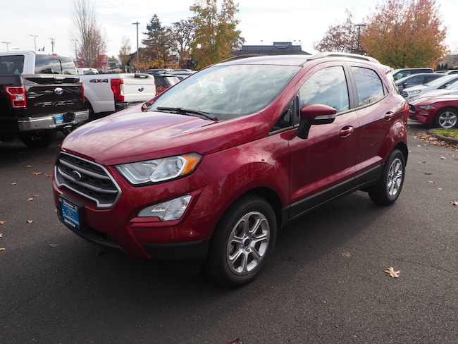 New 2018 Ford EcoSport SE Crossover in Beaverton, OR