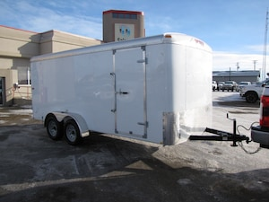 2017 TNT Trailer 7X16 ENCLOSED TRAILER  LEASE, FINANCE, OR RENT
