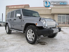2014 Jeep Wrangler Unlimited UNLIMITED, SAHARA, 4X4, LEATHER SUV