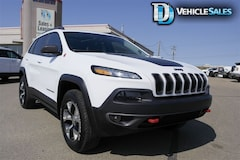 2017 Jeep Cherokee Trailhawk, 4x4, Nav, Leather SUV