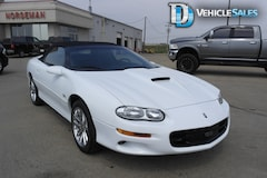 2002 Chevrolet Camaro SS, Power Driver's Seat, Leather Convertible