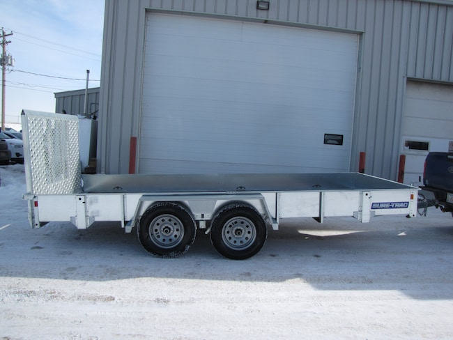 2017 Sure-Trac 7X16 TANDEM AXLE UTILITY TRAILER LEASE, FINANCE, OR RENT