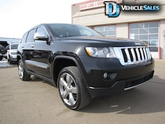 2012 Jeep Grand Cherokee OVERLAND, V6, ADAPTIVE CRUISE, AIR RIDE, LEATHER SUV