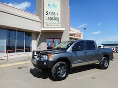 2014 Nissan Titan PRO-4X/Leather/Ads No Credit Check Financing Truck Crew Cab