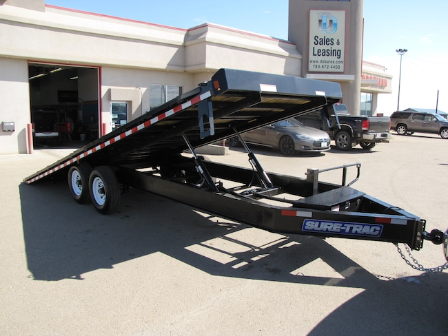 2018 Sure-Trac 8.5X22 POWER TILT DECKOVER TRAILER LEASE, FINANCE, OR RENT