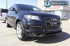 2012 Audi Q7 3.0 SPORT, AWD, LEATHER, 7 PASSENGER SUV