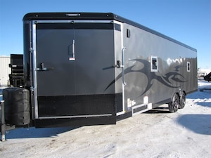 2018 TNT Trailer 8.5X28 ENCLOSED SNOWMOBILE/ UTV TRAILER LEASE, FINANCE, OR RENT