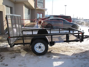 2017 Sure-Trac 6X10 UTILITY TRAILER WITH FOLDING RAMP LEASE, FINANCE, OR RENT