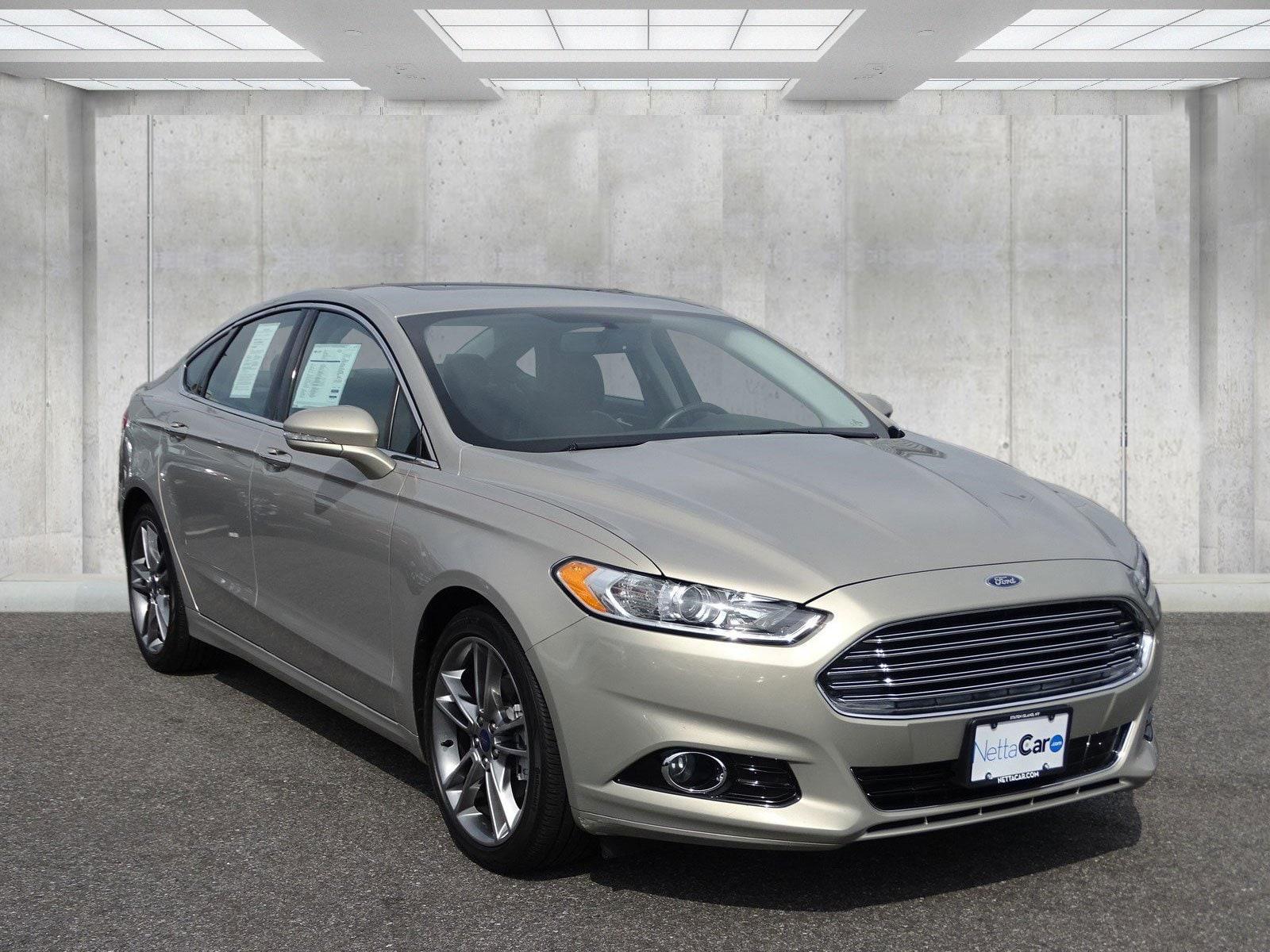 2015 Ford Fusion CERTIFIED TITANIUM--EVERY OPTION--17,000 MILES Sedan