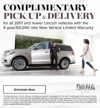 Complimentary Pick Up & Delivery